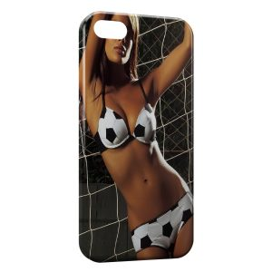 Coque iPhone 7 & 7 Plus Sexy Girl Football Lingerie