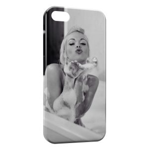 Coque iPhone 7 & 7 Plus Sexy Girl Mousse Bain
