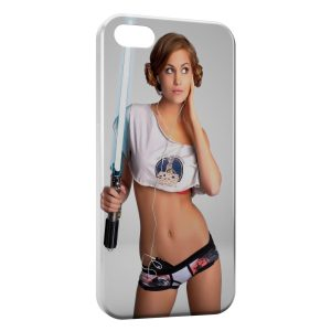 Coque iPhone 7 & 7 Plus Sexy Girl Star Wars