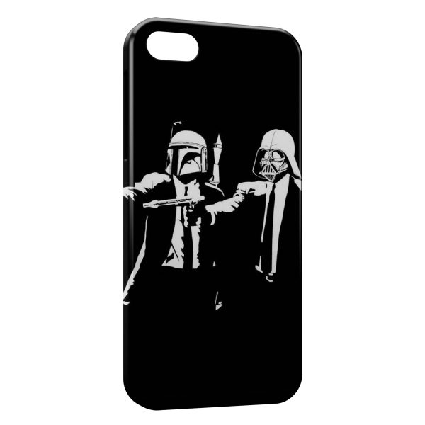 Coque iPhone 7 & 7 Plus Star Wars Pulp Fiction