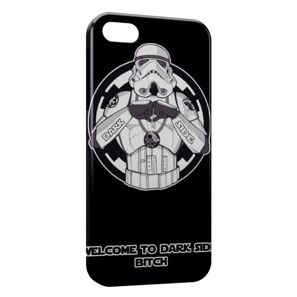 Coque iPhone 7 & 7 Plus Stormtrooper Star Wars Welcome to Dark Side