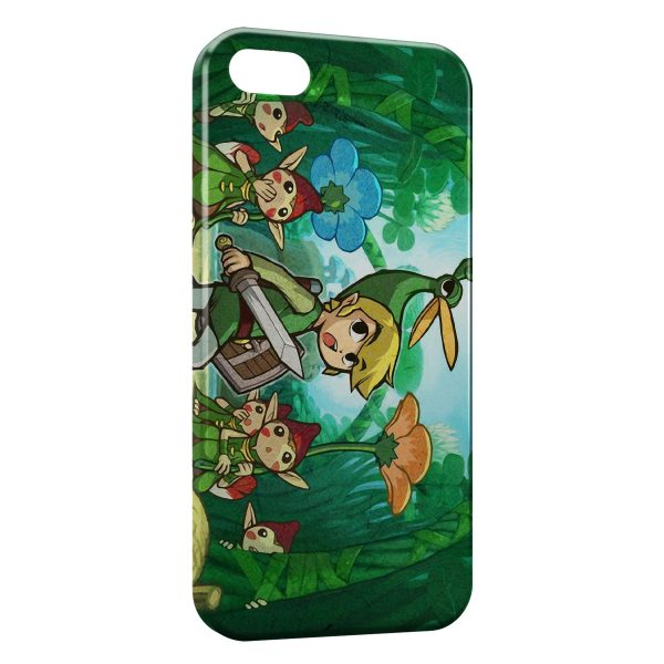 Coque iPhone 7 7 Plus The Legend of Zelda 600x600