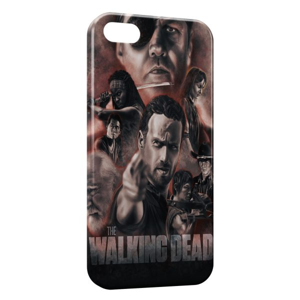 Coque iPhone 7 7 Plus The Walking Dead 11 600x600