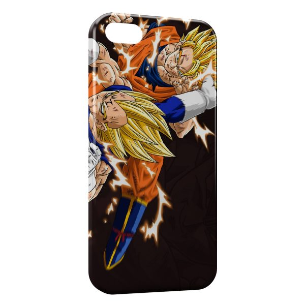 Coque iPhone 7 & 7 Plus Vegeta and Goku - Dragon Ball Z