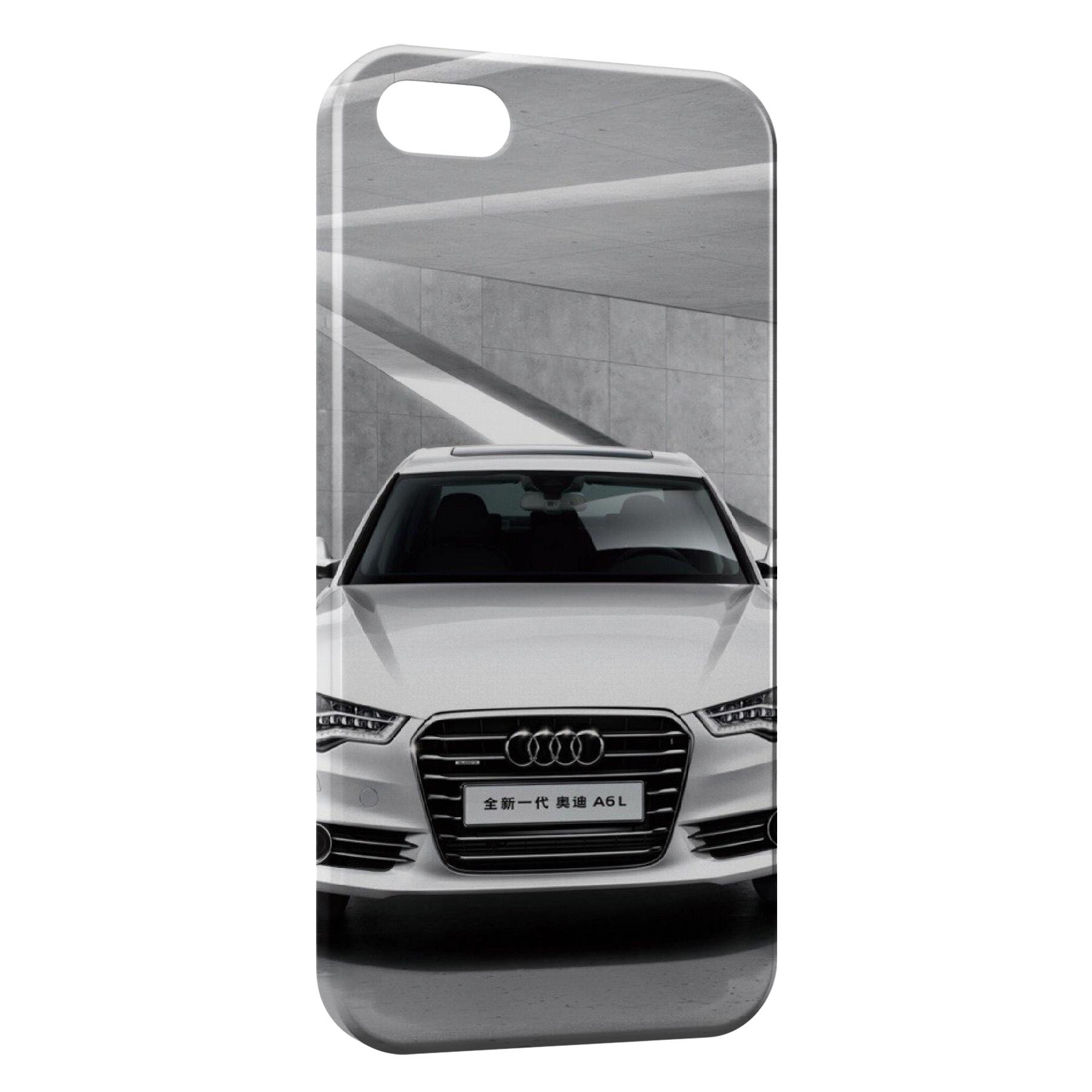 Coque iPhone 8 8 Plus Audi voiture sport 2