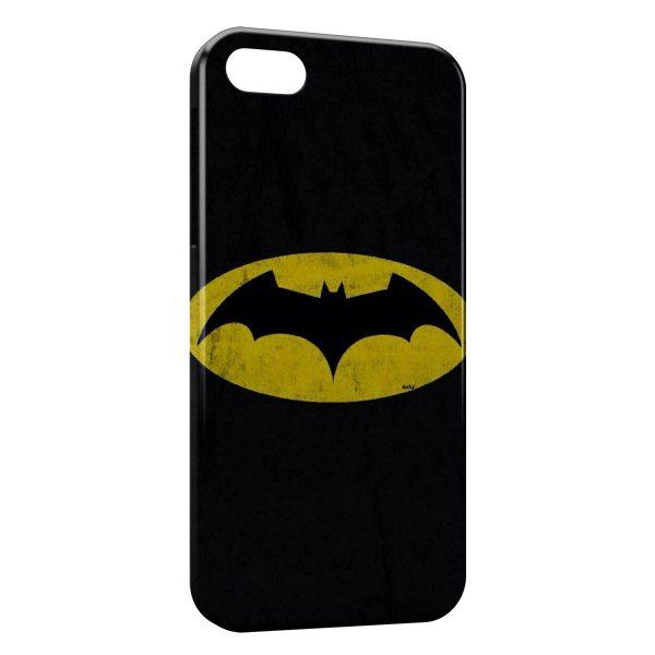 Coque iPhone 8 & 8 Plus Batman Logo Jaune