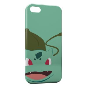 Coque iPhone 8 & 8 Plus Bulbizarre Pokemon Graphic Design Style