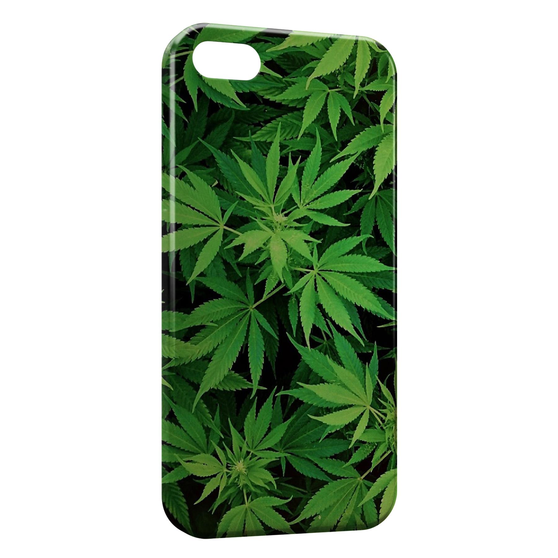 coque iphone 8 weed pink