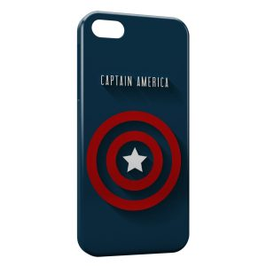 Coque iPhone 8 & 8 Plus Captain America Logo