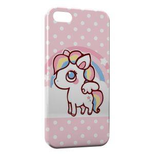 Coque iPhone 8 & 8 Plus Cute Unicorn Licorne Pink