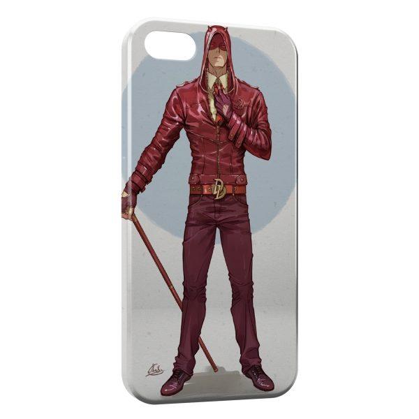 Coque iPhone 8 & 8 Plus Daredevil Design Art