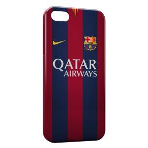 Coque iPhone 8 & 8 Plus FC Barcelone FCB Qatar Airways Football 14