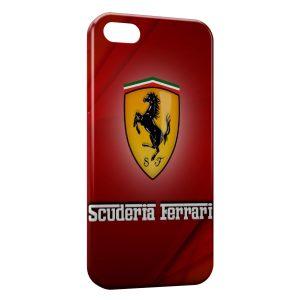 Coque iPhone 8 & 8 Plus Ferrari Red Logo Design