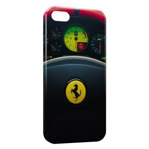 Coque iPhone 8 & 8 Plus Ferrari Volant Voiture