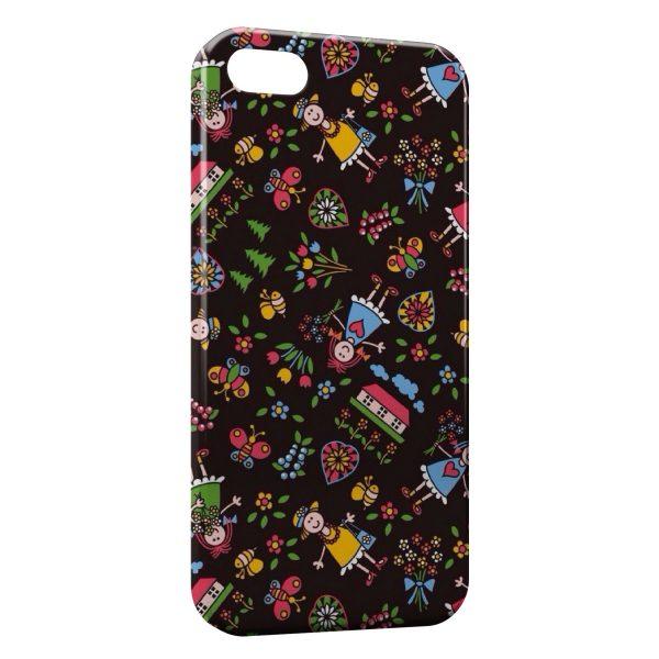 coque iphone 8 plus fleures