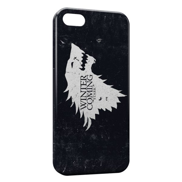 Coque iPhone 8 & 8 Plus Game of Throne Winter is Coming Stark