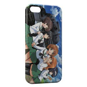 Coque iPhone 8 & 8 Plus Girls Und Panzer Manga