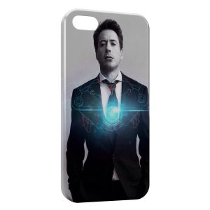 Coque iPhone 8 & 8 Plus Iron Man Style Stark