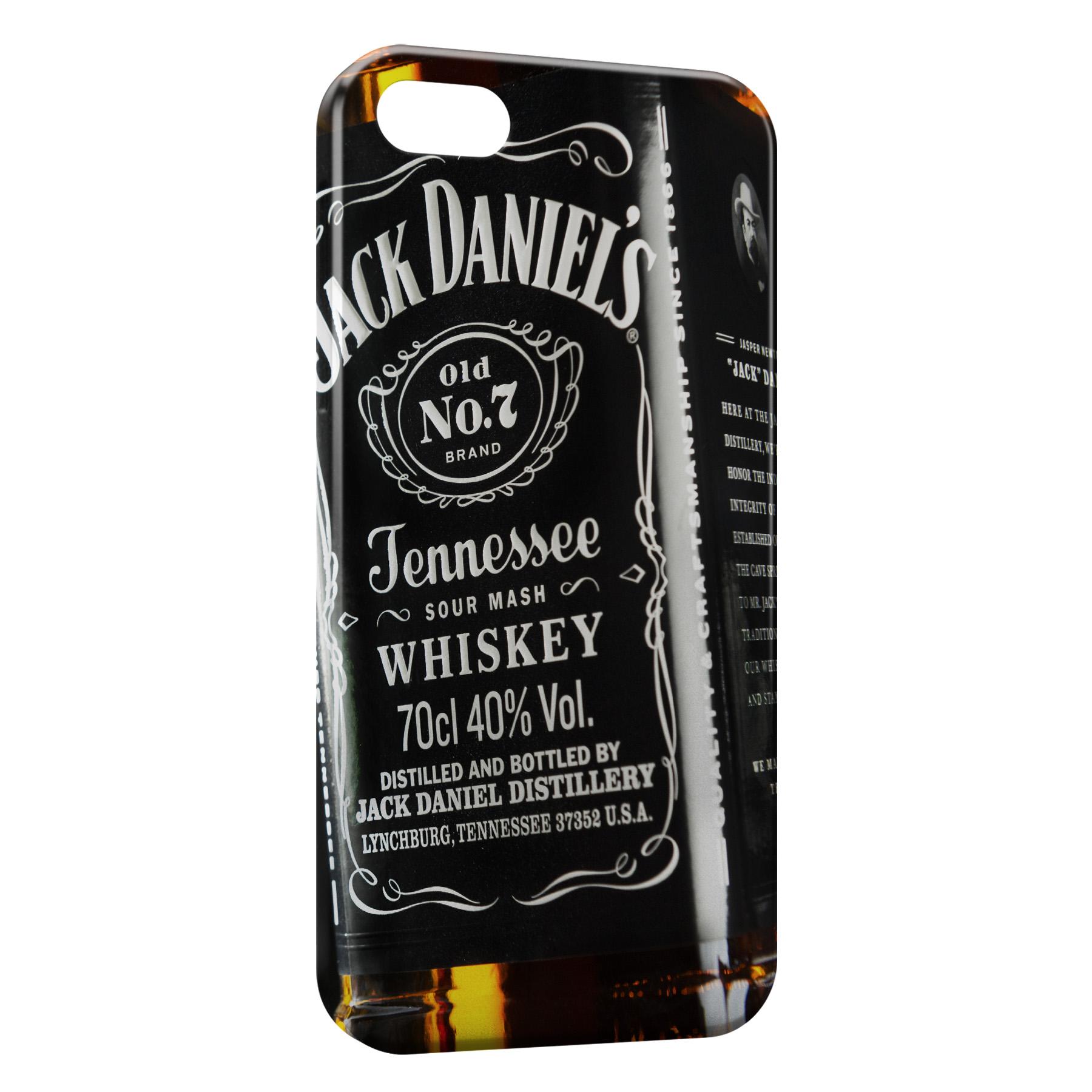 Coque iPhone 8 & 8 Plus Jack Daniel's Black Design 3