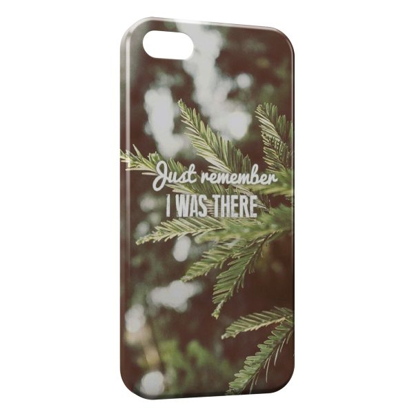 Coque iPhone 8 & 8 Plus Just Remember I was There