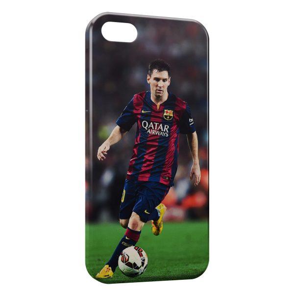 Coque iPhone 8 & 8 Plus Lionel Messi Football 4