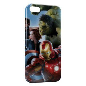 Coque iPhone 8 & 8 Plus Marvel Iron Man Captain America Hulk