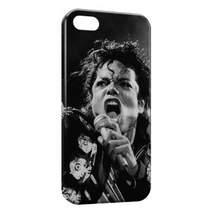 Coque iPhone 8 & 8 Plus Michael Jackson Black & White