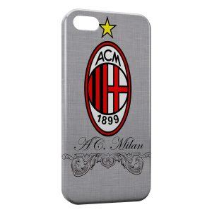 Coque iPhone 8 & 8 Plus Milan AC Football