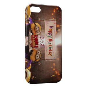 Coque iPhone 8 & 8 Plus Minion Happy Birthday