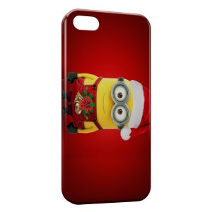 Coque iPhone 8 & 8 Plus Minion Noel