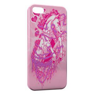 Coque iPhone 8 & 8 Plus Pink Licorne