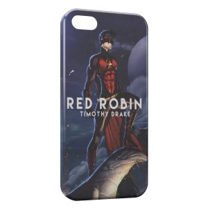 Coque iPhone 8 & 8 Plus Red Robin Timothy Drake
