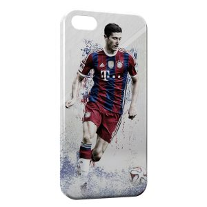Coque iPhone 8 & 8 Plus Robert Lewandowski FC Bayern de Munich 2