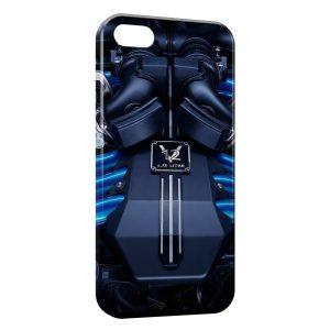Coque iPhone 8 & 8 Plus Rolls Royce Phantom Moteur Voiture