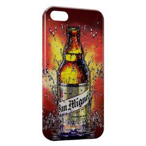 Coque iPhone 8 & 8 Plus San Miguel Bière Cerveza Espagnole 3