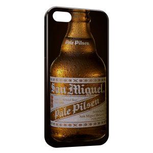 Coque iPhone 8 & 8 Plus San Miguel Bière Cerveza Espagnole