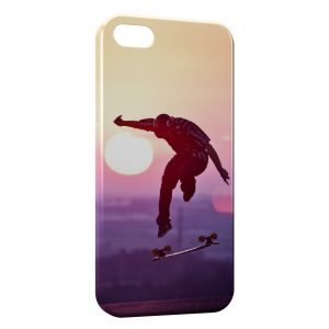 Coque iPhone 8 & 8 Plus Skateboarding & Sunshine