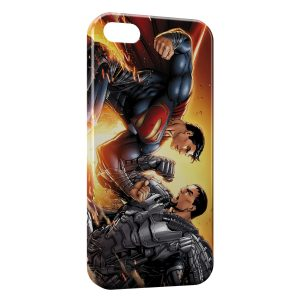 Coque iPhone 8 & 8 Plus Superman Combat