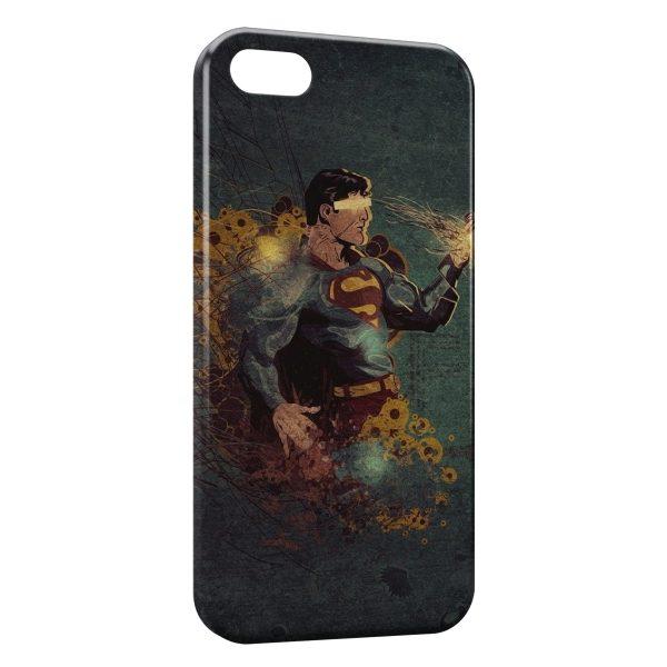 Coque iPhone 8 & 8 Plus Superman Vintage Design