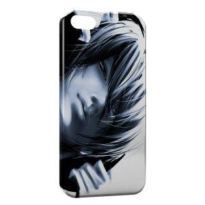 Coque iPhone 8 & 8 Plus Tete Black and White Manga