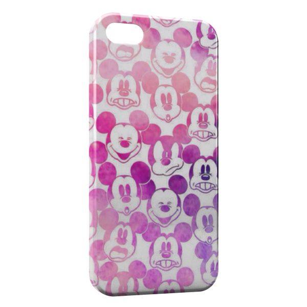 Coque iPhone 8 8 Plus Tetes de Mickey Vintage 600x600