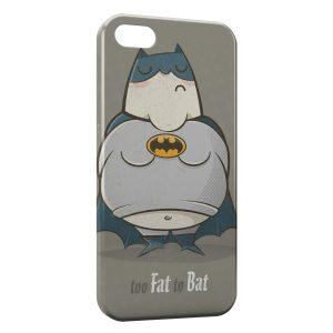 Coque iPhone 8 & 8 Plus Too Fat to Bat Batman