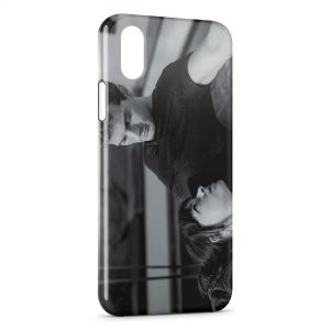 Coque iPhone XR 50 nuances de grey christian grey ana