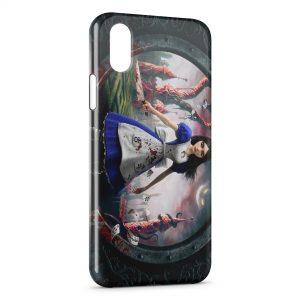 Coque iPhone XR Alice au Pays des Merveilles
