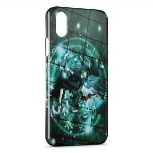 Coque iPhone XR Angel's Prison
