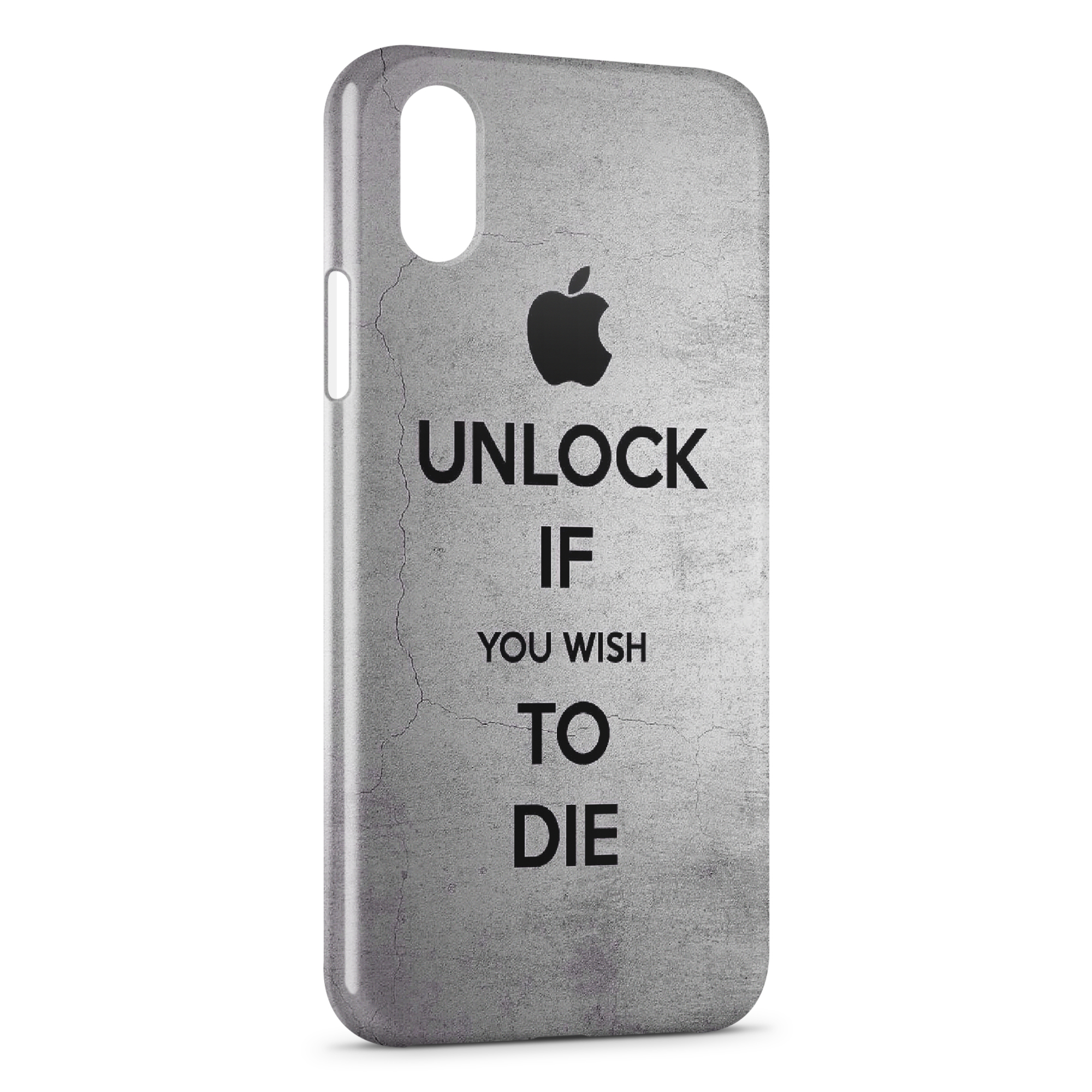 Coque iPhone XR Apple Unlock If You Wish To Die