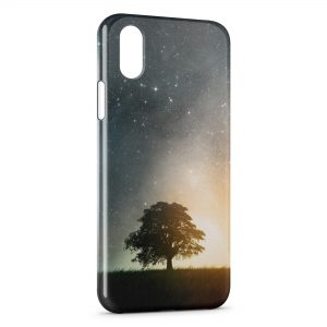 Coque iPhone XR Arbre & Galaxy