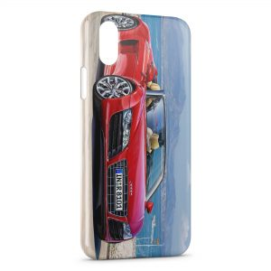 Coque iPhone XR Audi R8 GT Spyder
