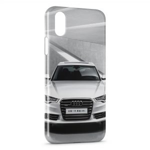Coque iPhone XR Audi voiture sport 2
