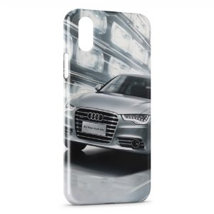 Coque iPhone XR Audi voiture sport